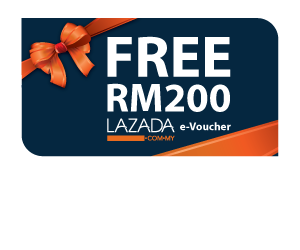 Get a RM200 Lazada e-Voucher with Your New Public Bank Credit Card!