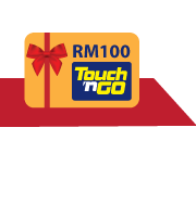 Get RM100 Touch 'n Go  with HSBC Amanah Personal Financing-i