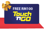 Get a Free RM100 Touch 'n Go Card with your New RHB Credit Card!