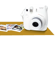 Secure Your Happy Moments. Get a Free Fujifilm Instax Camera!