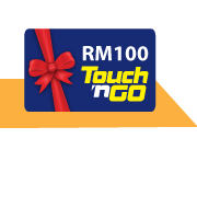 Get a Free RM100 Touch 'n Go card with Etiqa Ezy-Life Secure!