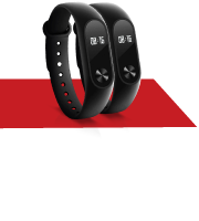 Free 2x Xiaomi Mi Band 2 with U for Life Insurance Policy