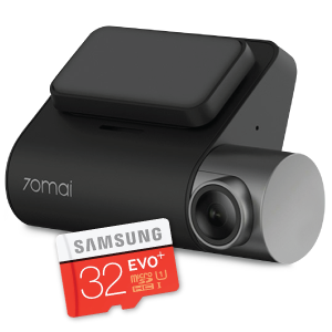 Xiaomi 70mai PRO Car Dashcam + Samsung 32GB SD Card